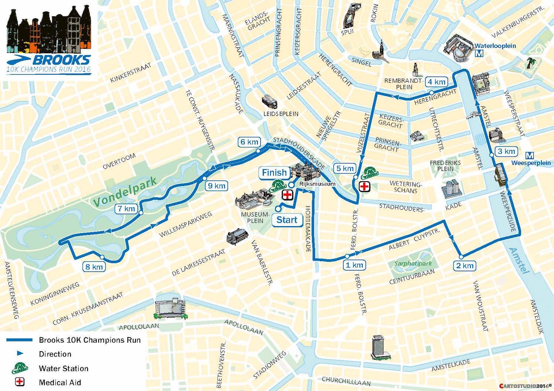 10km Amsterdam