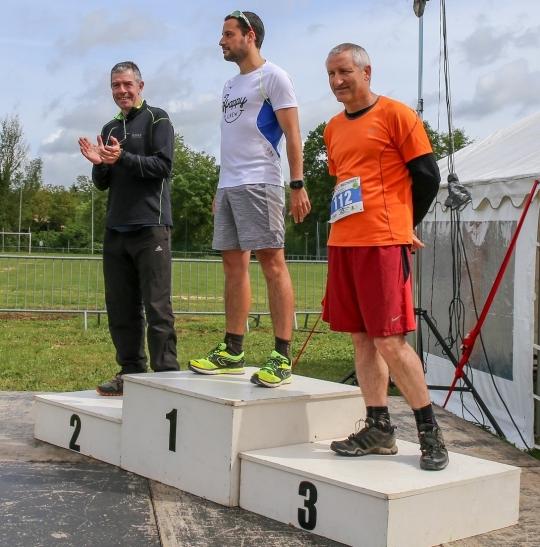 podium course à pied