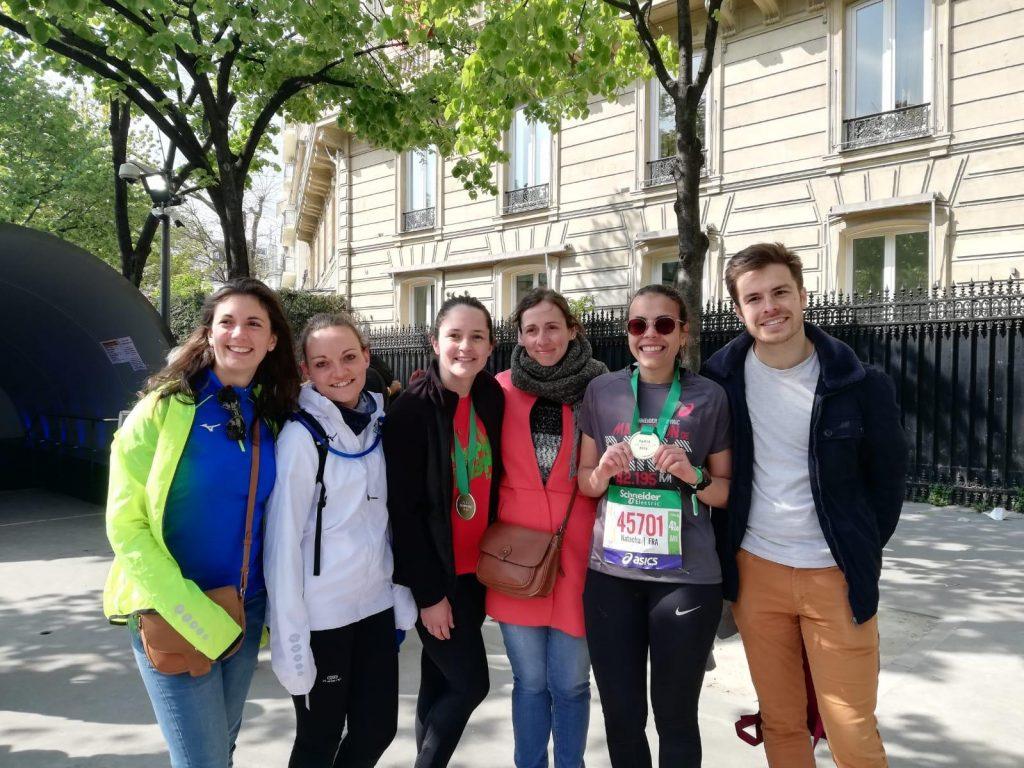 Arrivée du Marathon de Paris