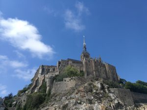 Mont saint Michel : trail de l'archange