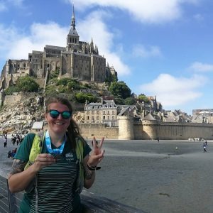 Finisher trail du Mont St Michel