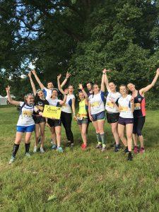 La teal du Happy Running Crew