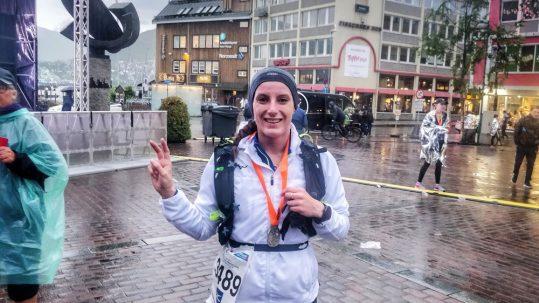 Semi-marathon de Tromsø avec Mizuno