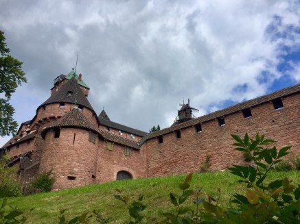 Remparts château trail du Haut-Koenigsbourg